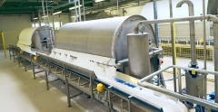 Potato starch bagging line - 1000 kg big-bags.